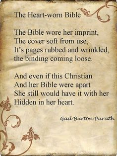 Bible Love Notes: Well Hidden Love this!This reminds me of my Mother and her Bible. Which now belongs to me. Thank-you God for her and her bible! Book Quotes Love, Bible Love, Life Quotes Love, Reading Quotes, I Love Books, Good Books, Me Quotes, Books To Read, Quote Books