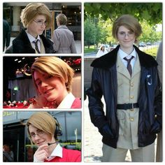 Hetalia: America cosplay by vandetta cosplay