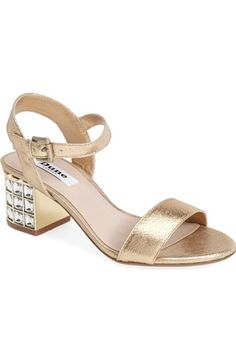 1a22e95706744d Dune London  Harah  Block Heel Sandal (Women) available at  Nordstrom Bootie