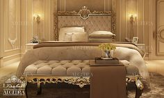 Find new luxury bedroom interior designs ideas for your home. Contact our team of experts to consult your bedroom interior design project today! Bedroom False Ceiling Design, Master Bedroom Interior, Luxury Bedroom Design, Luxury Home Decor, Bedroom Sets, Luxury Interior, Home Bedroom, Bedroom Decor, Modern Bedroom