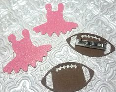 Tutus or footballs pins for gender reveal baby shower twins party birthday invitations table decoration It's a boy girl He or she? New baby sports ballet ballerina one first 1st birthday prince or princess boots or bows new mommy graduation wedding bride groom bridesmaids gift quinceanera cheerleader