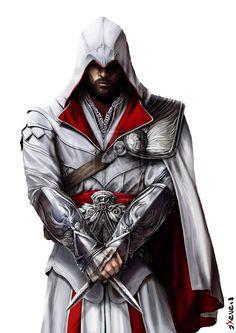 Ezio Auditore Da Firenze by *sXeven on deviantART