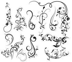 Dibujos de flores para tatuar - Cuerpo y Arte