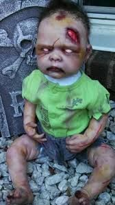 Image result for how to make repurposed dolls into halloween props