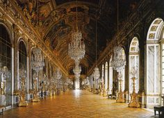Hall of Mirrors | ... : Friday 2010/12/24 17:52:12 the hall of mirrors versailles beautiful