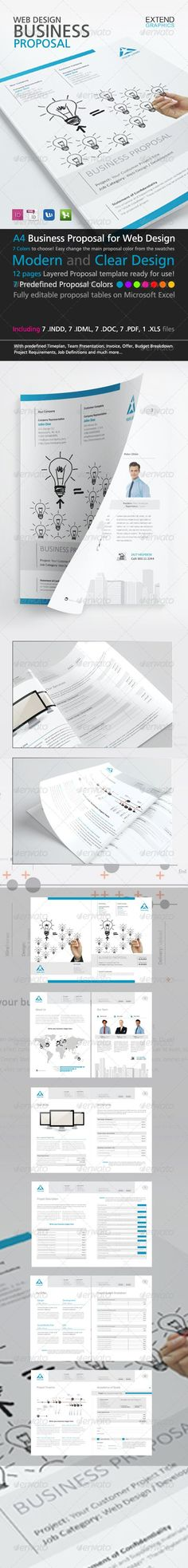 LOBSTERu201d - Proposal Template Full Pack Proposal templates - cost proposal template