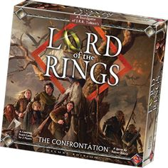 Lord of the Rings - The Confrontation: Stratego type war game.