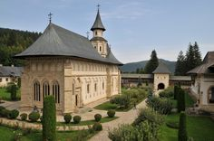 Putna Monastery, Bucovina via www. History Of Romania, Visit Romania, Neoclassical Architecture, Little Paris, Bucharest, Modern Buildings, Eastern Europe, Amazing Architecture, Historical Sites