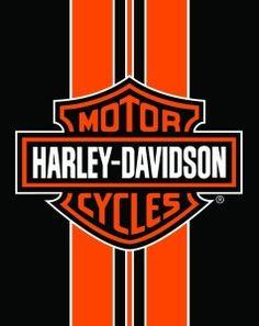 Harley Davidson Gifts Logo Bath Towel Full View
