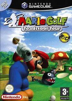 Mario Golf: Toadstool Tour Game for the Nintendo Gamecube (GC). Gamecube Games, Mario, Tours, Retro, Image, Retro Illustration