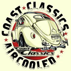 Design COAST CLASSICS - AIRCOOLED - Spain...2017 - dvicente-art.com