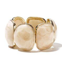 mark Bohemian Rocks Bracelet, $24; meetmark.com #bracelets #budget