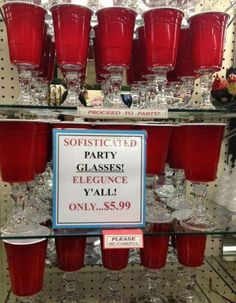 Southern style...you might be a redneck-now I know some peeps that would like a set of these...