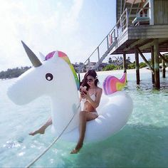 Swimline Swimming Pool Kids Giant Rideable Horse Inflatable Float Toy Raft-in Air Mattresses from Sports & Entertainment on Aliexpress.com | Alibaba Group