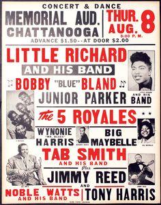 Memorial Auditorium, Chattanooga TN 1957