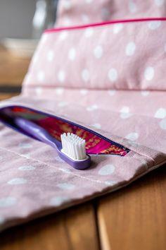 Couture : la trousse de toilette Clara de Petit Patron - Avril sur un fil