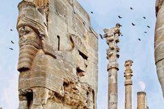 sheraz IRAN takht jamshid made in -488, old 2500 years