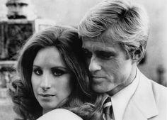 BARBRA STREISAND Y ROBERT REDFORD Como Katie y Hubbell en Tal como éramos (1973)