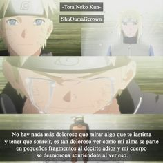 No hay mas dolor que .. #Anime #Frases_anime #frases