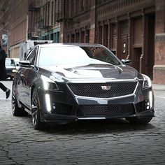 Raw beauty. Refined power. #CTS #VSERIES
