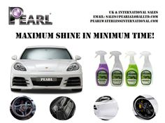 Trend setters of the world united and shining out of from the crowd with Pearl Waterless Car Wash Products