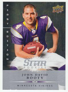 John David Booty RC # 171 - 2008 Upper Deck First Edition Football NFL Rookie