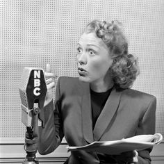 Eve Arden, pictured in 1946, won Best Female Star of a Regular Series for Our Miss Brooks in 1954.