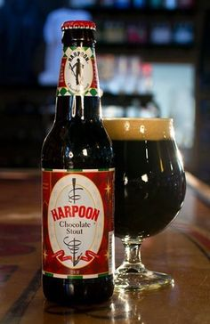What we're drinkin' Harpoon Brewery Harpoon Chocolate Stout. Mmmmm. #c5fl #category5ive c5fl.com