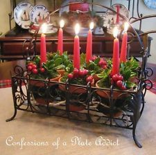 southern living tray with candle holders - Google Search