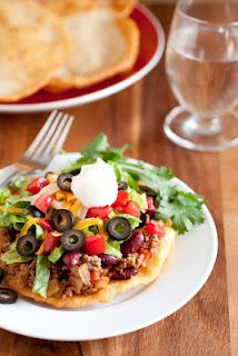 Yum! Cant wait to try Mikell's!  Navajo Tacos and Indian Fry Bread