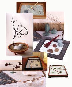 """¿Qué es un jardín Zen? Es un jardín sin plantas o jardín seco, que en japonés se denomina """"kare sansui"""". Con arena, piedras, cuarzos y velas, podremos construir nuestro propio jardín Zen, nuestro p..."""