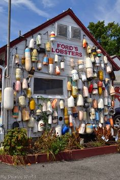 Ford's Lobsters. Noank, Connecticut. http://mypaisleyworld.blogspot.com/2014/10/fords-lobsters-noank-ct.html