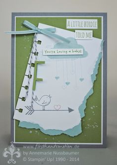 Stampin' Up! by First Hand Emotion: IN{K}SPIRE_me Challenge #159: A little Birdie told me...