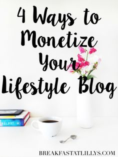 Today on Breakfast at Lilly's I'm sharing 4 ways to monetize your lifestyle… Make Money Blogging, How To Make Money, Blogging Ideas, Earn Money, Writing A Cover Letter, Apps, Thing 1, Blogger Tips, Blogging For Beginners