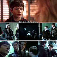 Henry remembers all his (bonding) times with Killian/Hook! I think going to miss him! Captain Cobra...