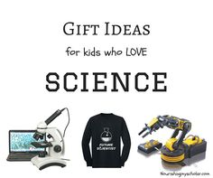 Lets talk kids who love science for a moment. I don't know about you, but  our kids love anything science related! We're talking chemistry,  engineering, geology, robots, STEM and everything in-between. They will  spend hours building, tinkering, and completely absorbed in any experiment.  So, if you're like me and frantically searching for science related gifts,  then search no more. Check out these fantastic holiday gift ideas for your  science loving kids!
