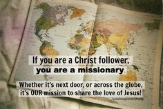 Our mission to share the love of Jesus