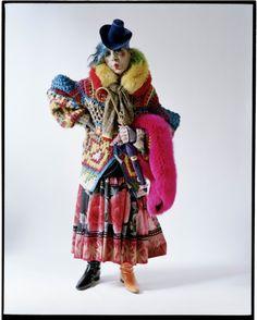 Anna Piaggi - Milan - 2012 - W Magazine -Tim Walker Photography