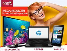 Reduceri la cele mai dorite produse  Laptopuri (de la 599 de lei), televizoare (de la 449 de lei) si tablete (de la 99 de lei) la cele mai mici preturi. Intra acum pe link-ul de mai jos si alege produsele preferate.  http://roabadepromotii.ro/Produse/