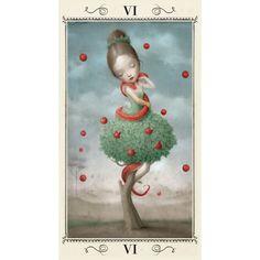 Ceccoli Tarot -- the Lovers