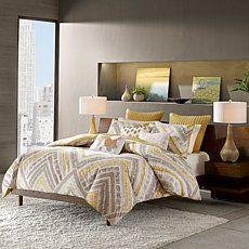 INK+IVY Cornwall Duvet Cover Mini Set - Full/Queen Price: USD 89.95  | http://www.cbuystore.com/product/ink-ivy-cornwall-duvet-cover-mini-set-full-queen/10127801 | United States
