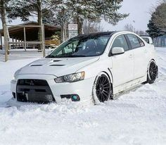 Evo x on snow