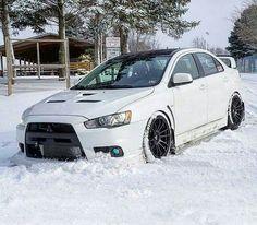 Evo x on snow