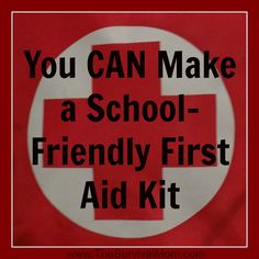 You may need to know how to do it httpsuccessfulstudent20 make a school friendly first aid kit survival mom fandeluxe Gallery