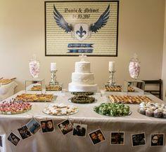 engagement, nişan, nişan masası sunum, engagement decoration ideas, wedding, wedding cake with fluer de lis