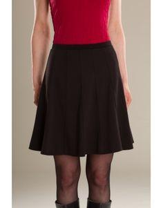 Jupe/Skirt Caféïne - KARKASS fashion designer. Mode québécoise / Made in Quebec