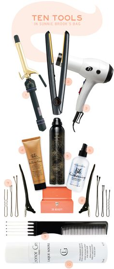 Ten Essential Hair Tools