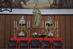 Triduo al Sagrado Corazón de Jesús del colegio Diocesano de Huelva. Fotos de Valentín López.