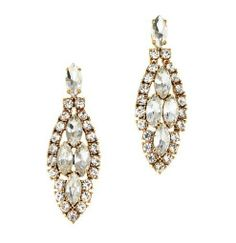 J.Crew Crystal icicle earring, Crystal, New #Jewelry #Deal #Fashion