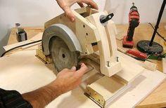 Como empotrar una sierra de madera